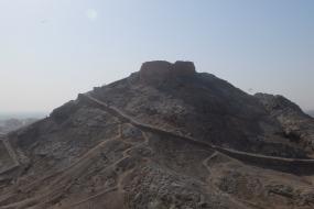 Sky burial towers, Yazd