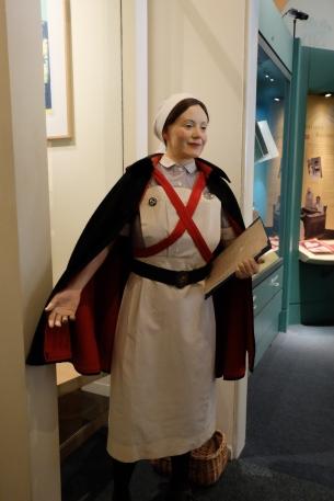 Barts Nurses Uniform, St Bartholomews Hospital Museum, London