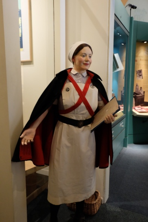 Barts Nurses Uniform, St Bartholomews Hospital Museum, London