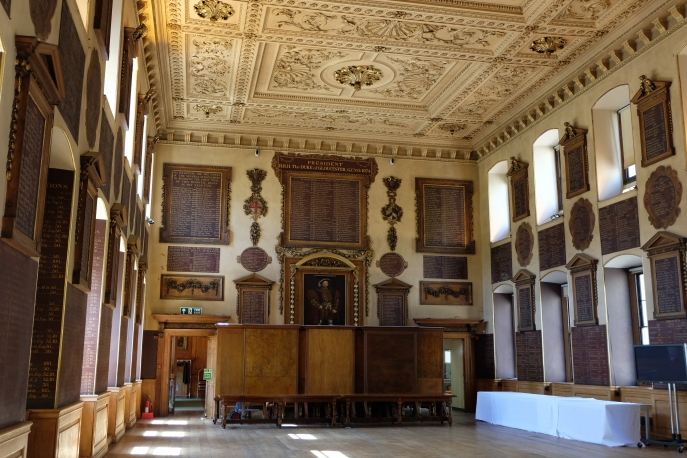Great Hall, St Bartholomews Hospital, London