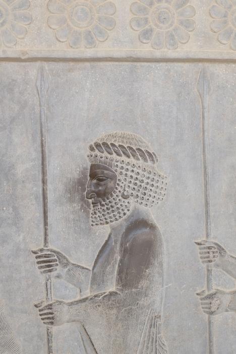 Carving at Persepolis
