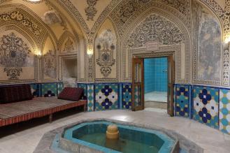 Old hammam, Kashan, Iran