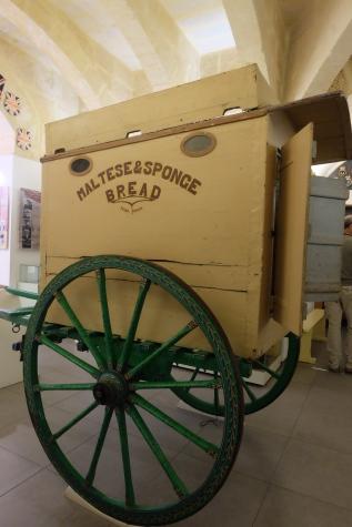Bread Wagon, Malta at War Museum, Valletta